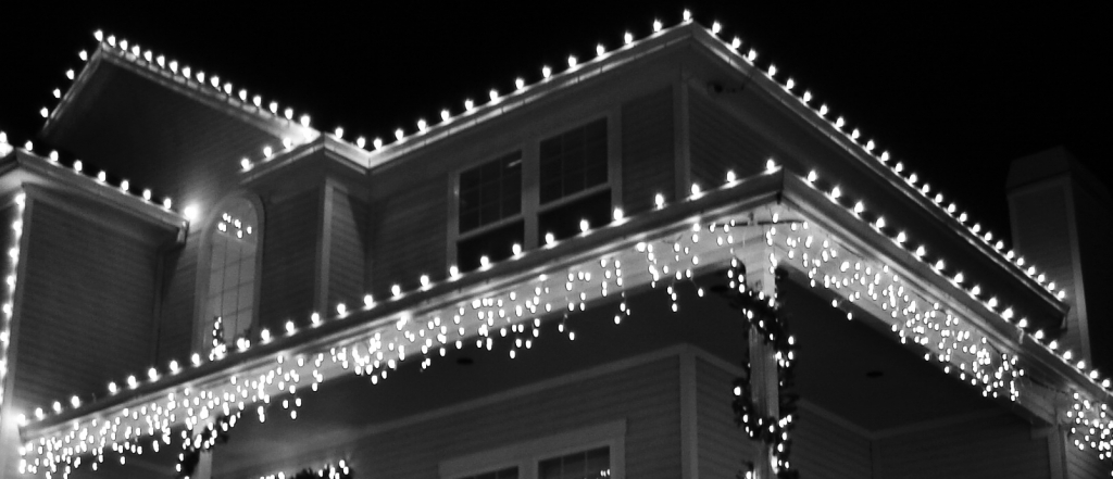 safe tips and alternatives to hanging lights on gutters - How To Install Christmas Lights