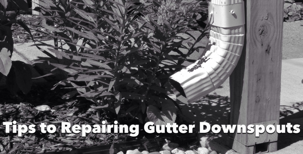 How to Repair Gutter Downspouts